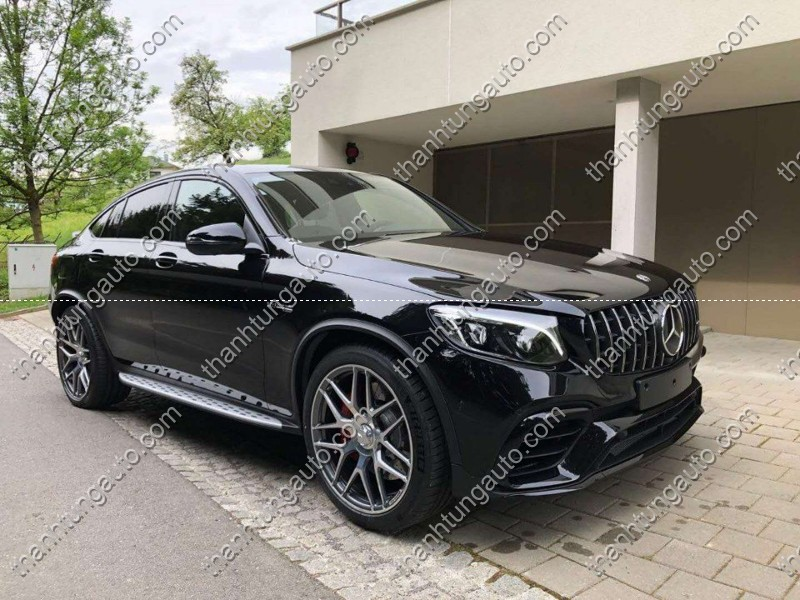 Bodykit cho Mercedes GLC Coupe up GLC 63 AMG