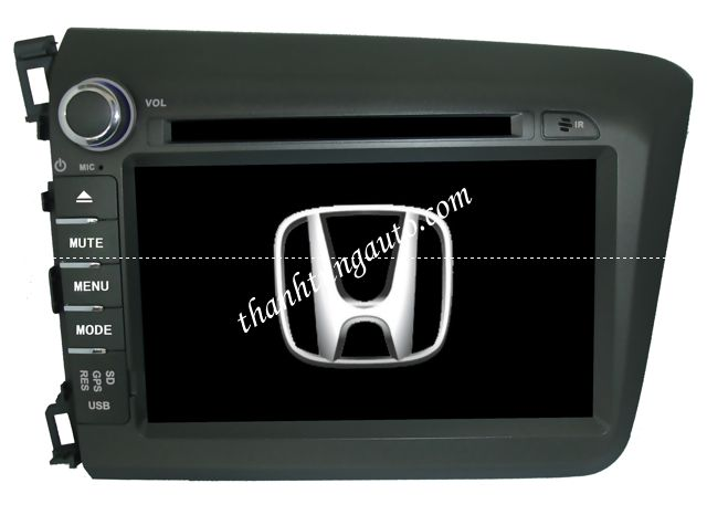 DVD HIGHSKY CHO CIVIC 2012