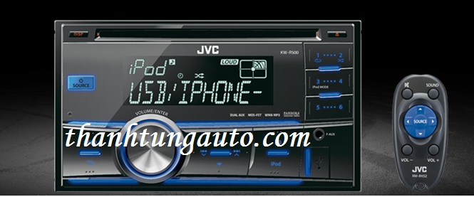 CD 2DIN Hi-end JVC KW-R500