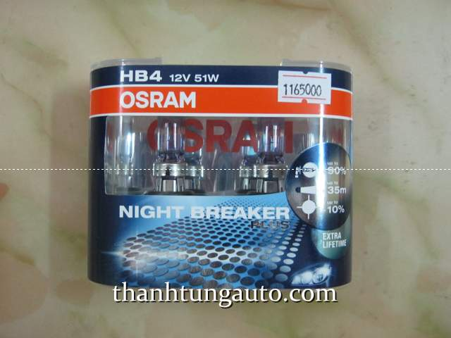 Đèn OSRAM NIGHT BREAKER PLUS 90 HB3(9005)